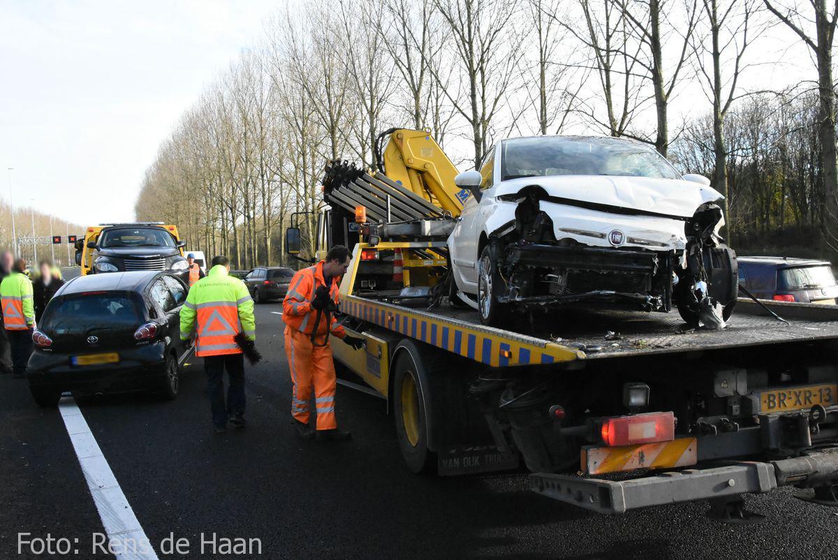 Ongeval op de A12 bij Reeuwijk (14)