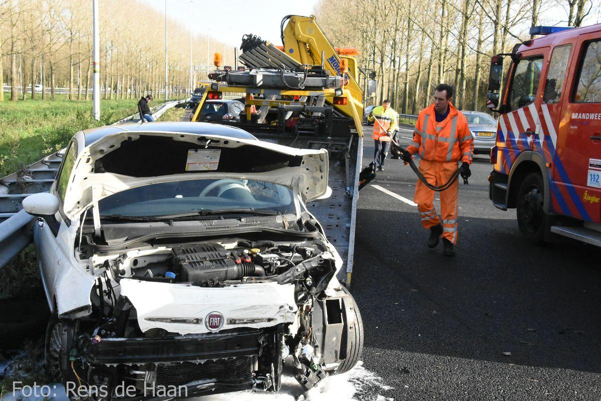 Ongeval op de A12 bij Reeuwijk (4)