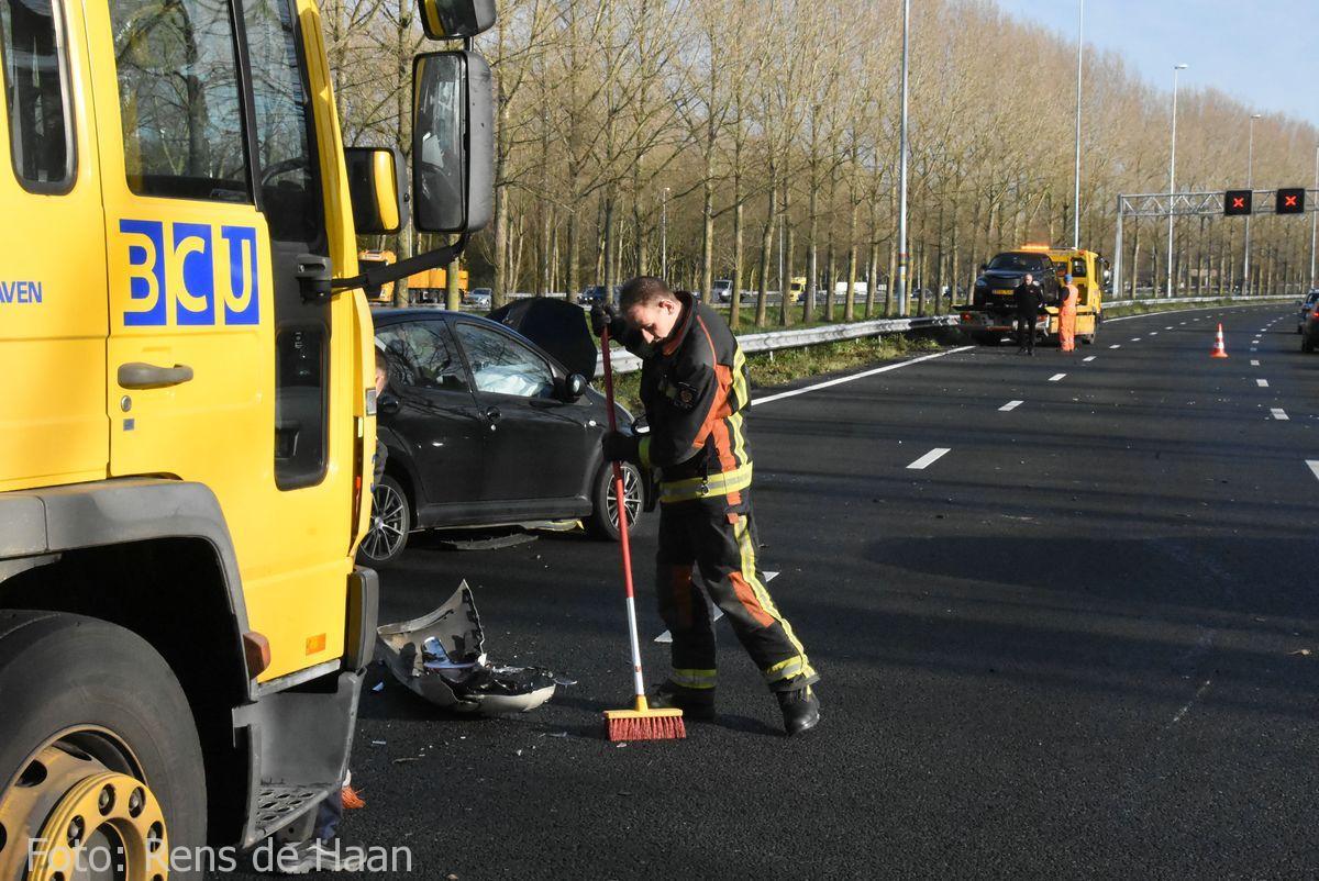 Ongeval op de A12 bij Reeuwijk (5)