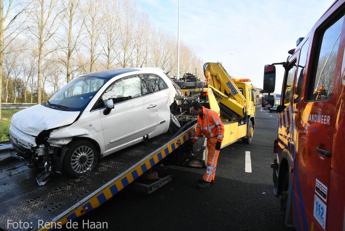 Ongeval op de A12 bij Reeuwijk (6)