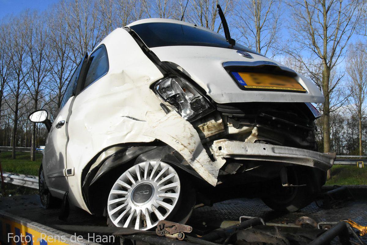 Ongeval op de A12 bij Reeuwijk (7)