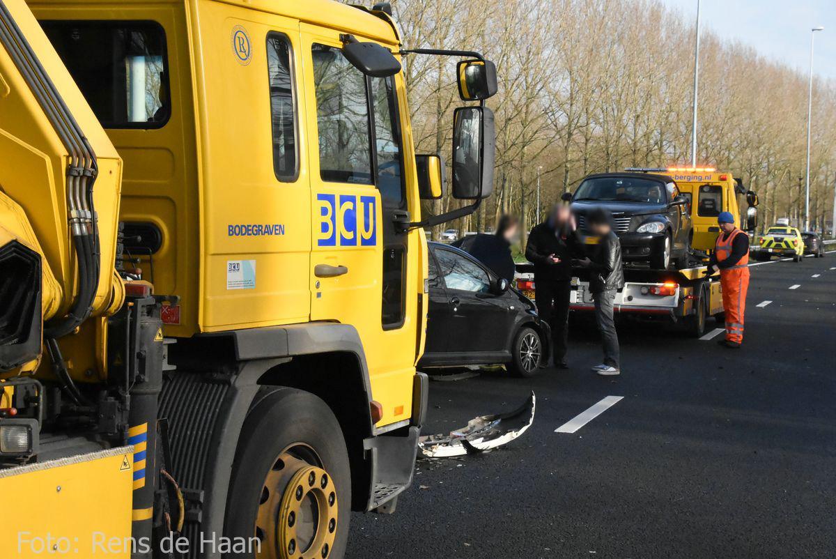 Ongeval op de A12 bij Reeuwijk (9)