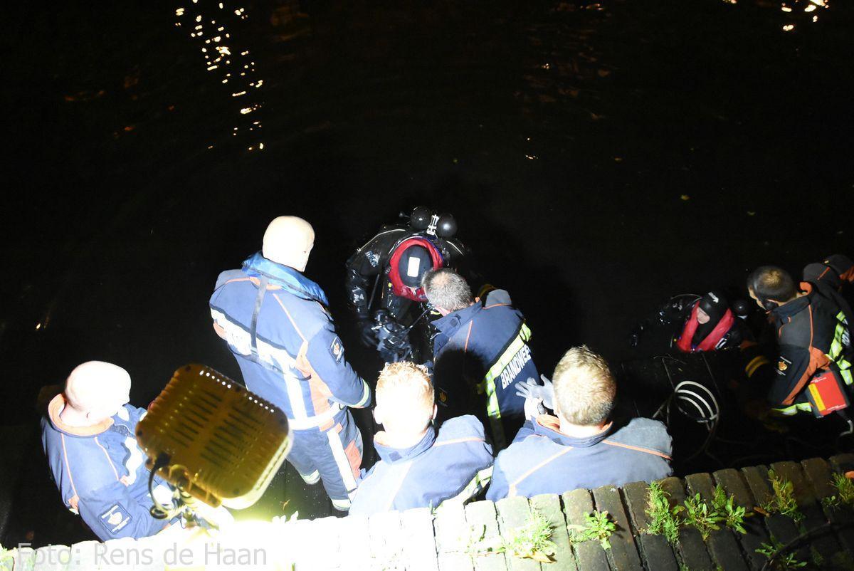 Persoon te water Oosthaven Gouda (11)