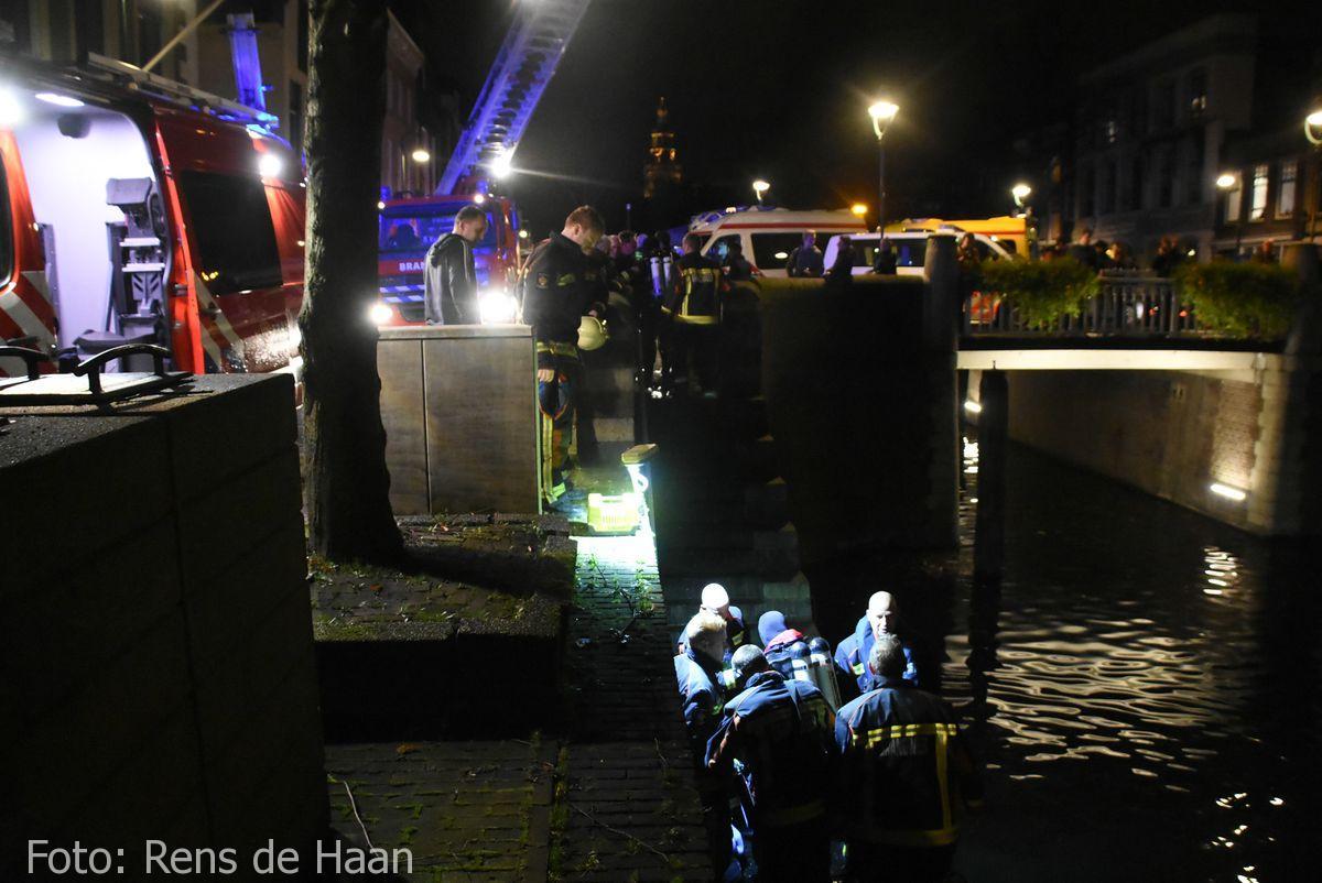 Persoon te water Oosthaven Gouda (12)