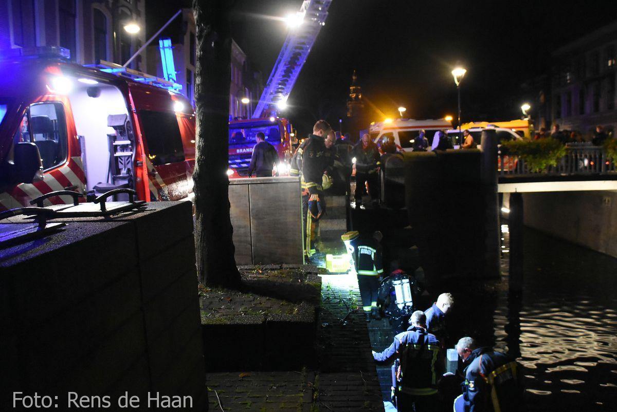 Persoon te water Oosthaven Gouda (13)