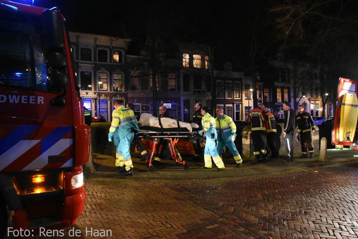 Persoon te water Oosthaven Gouda (7)