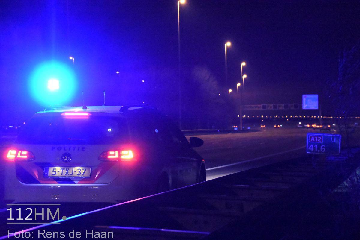 Klopjacht na achtervolging rondom A12 bij Nieuwerbrug (16)