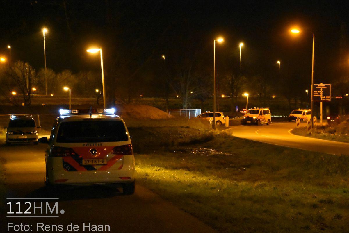 Klopjacht na achtervolging rondom A12 bij Nieuwerbrug (7)
