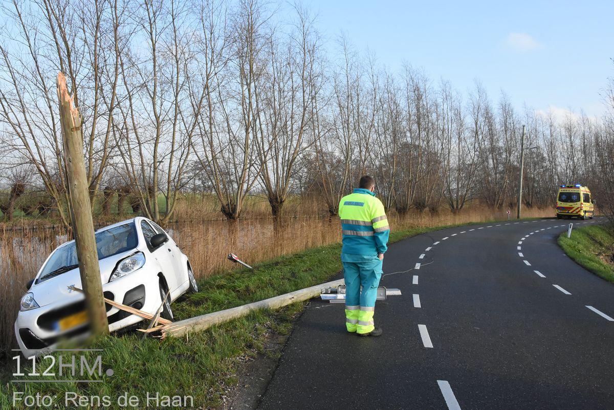 Ongeval West Vlisterdijk Haastrecht (1)