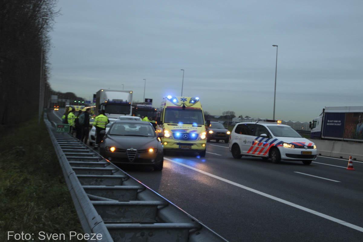 Ongeval (beknelling) A12 Zevenhuizen (1)-2