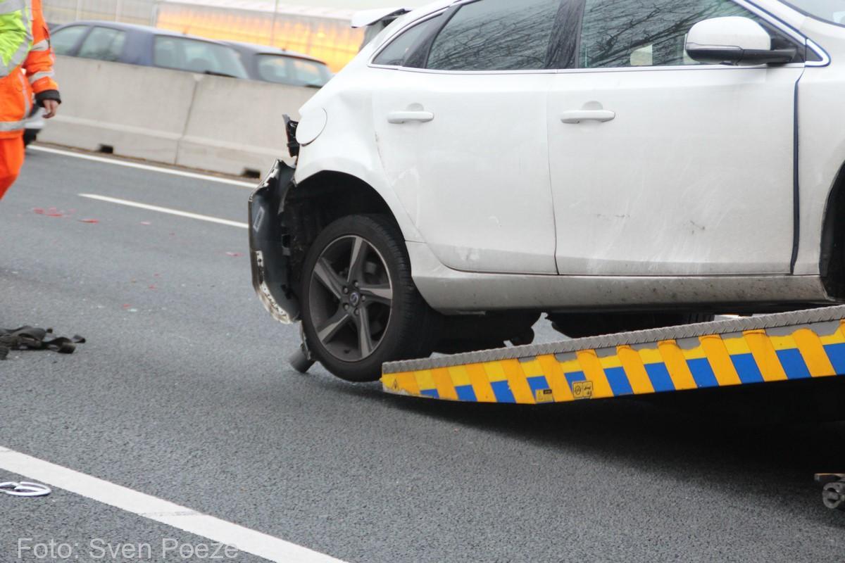 Ongeval (beknelling) A12 Zevenhuizen (11)-2