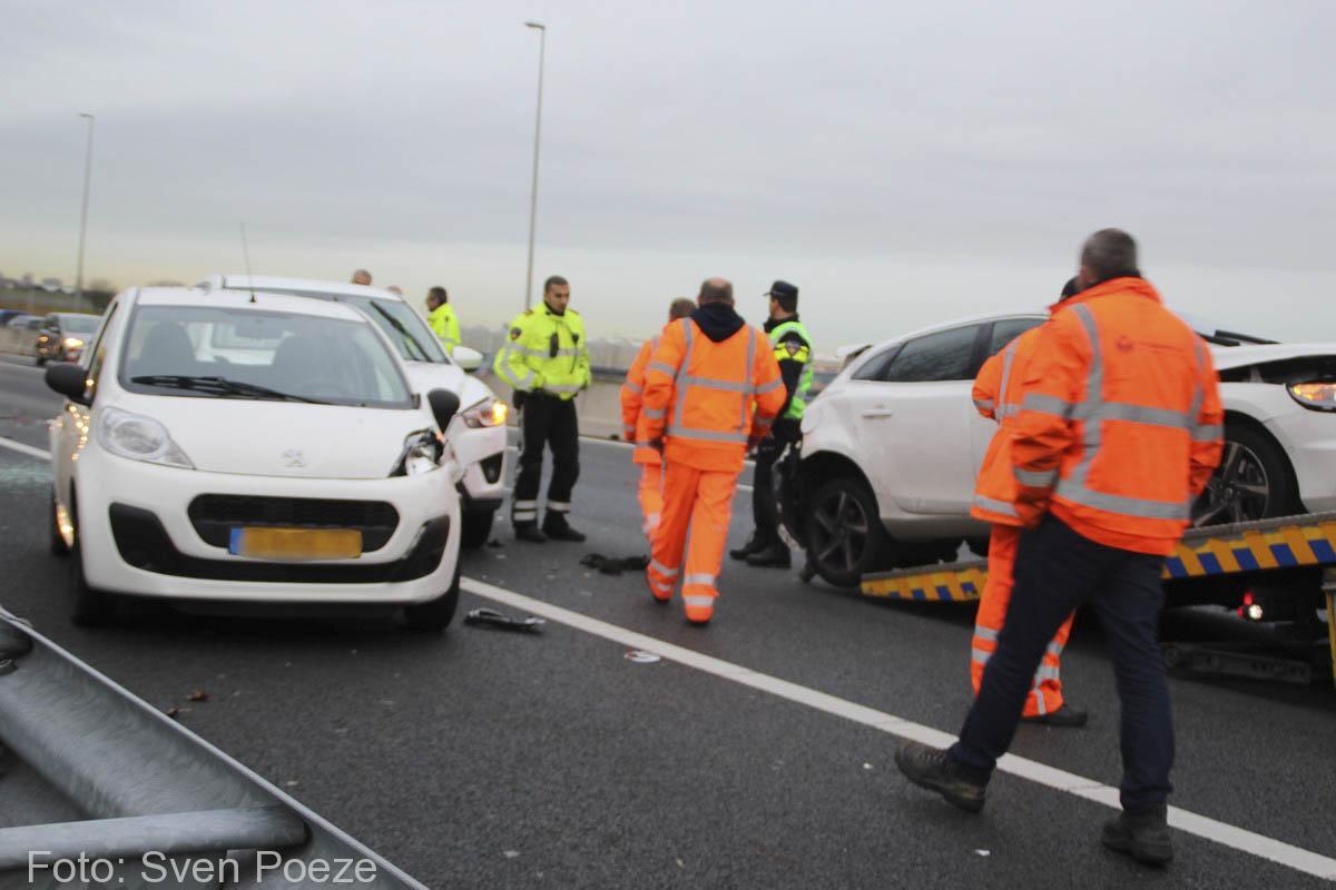 Ongeval (beknelling) A12 Zevenhuizen (12)-2