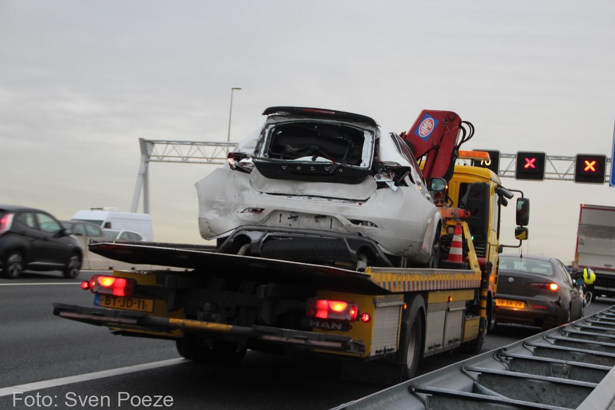 Ongeval (beknelling) A12 Zevenhuizen (15)-2