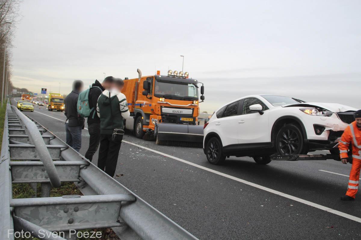 Ongeval (beknelling) A12 Zevenhuizen (19)-2