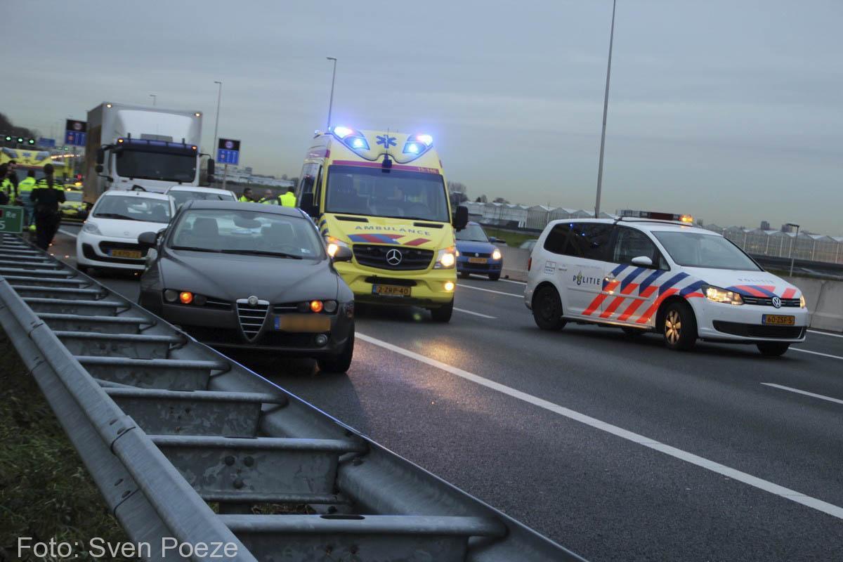 Ongeval (beknelling) A12 Zevenhuizen (2)-2