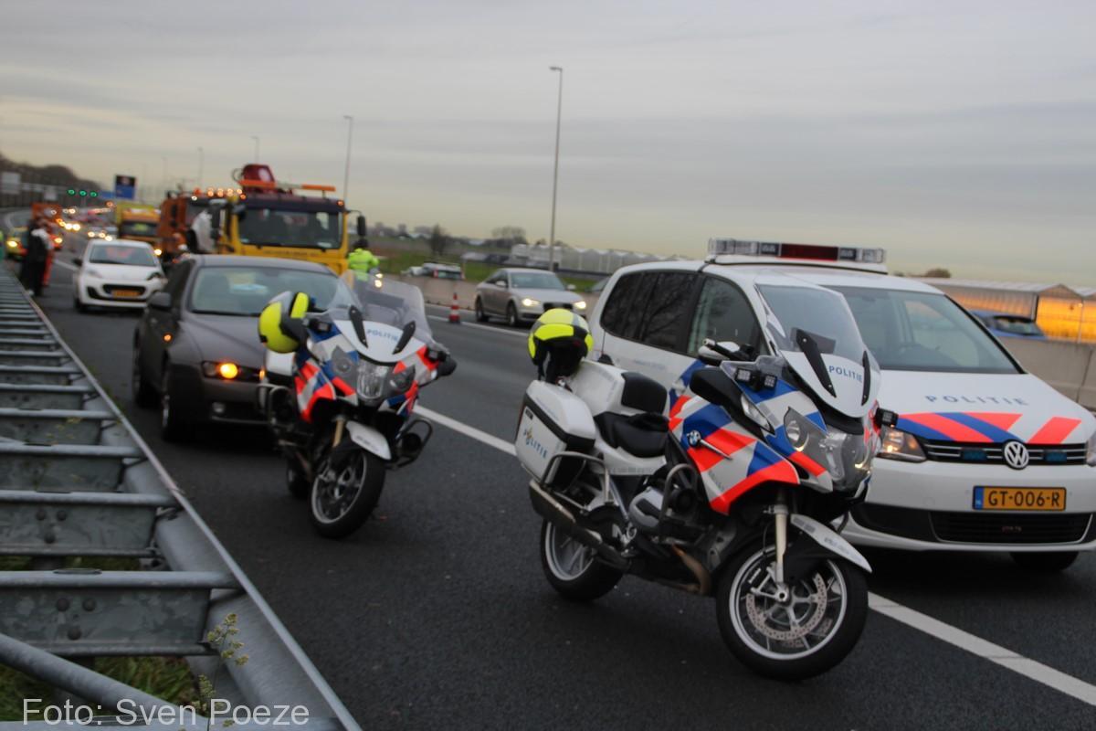 Ongeval (beknelling) A12 Zevenhuizen (20)-2