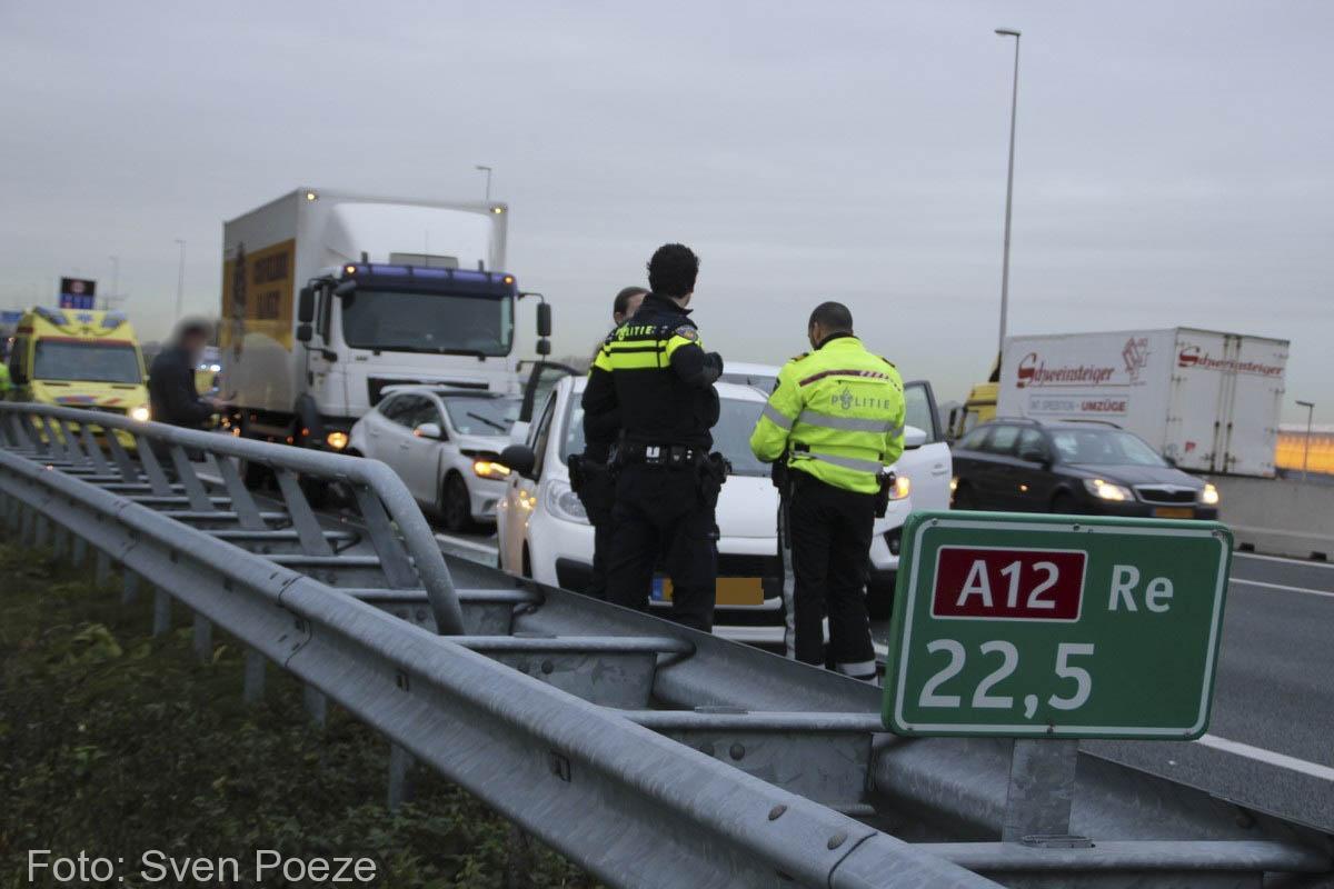 Ongeval (beknelling) A12 Zevenhuizen (3)-2