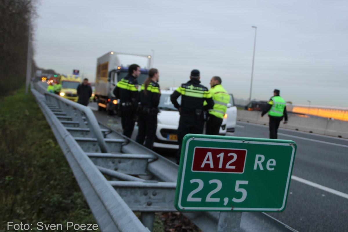 Ongeval (beknelling) A12 Zevenhuizen (4)-2