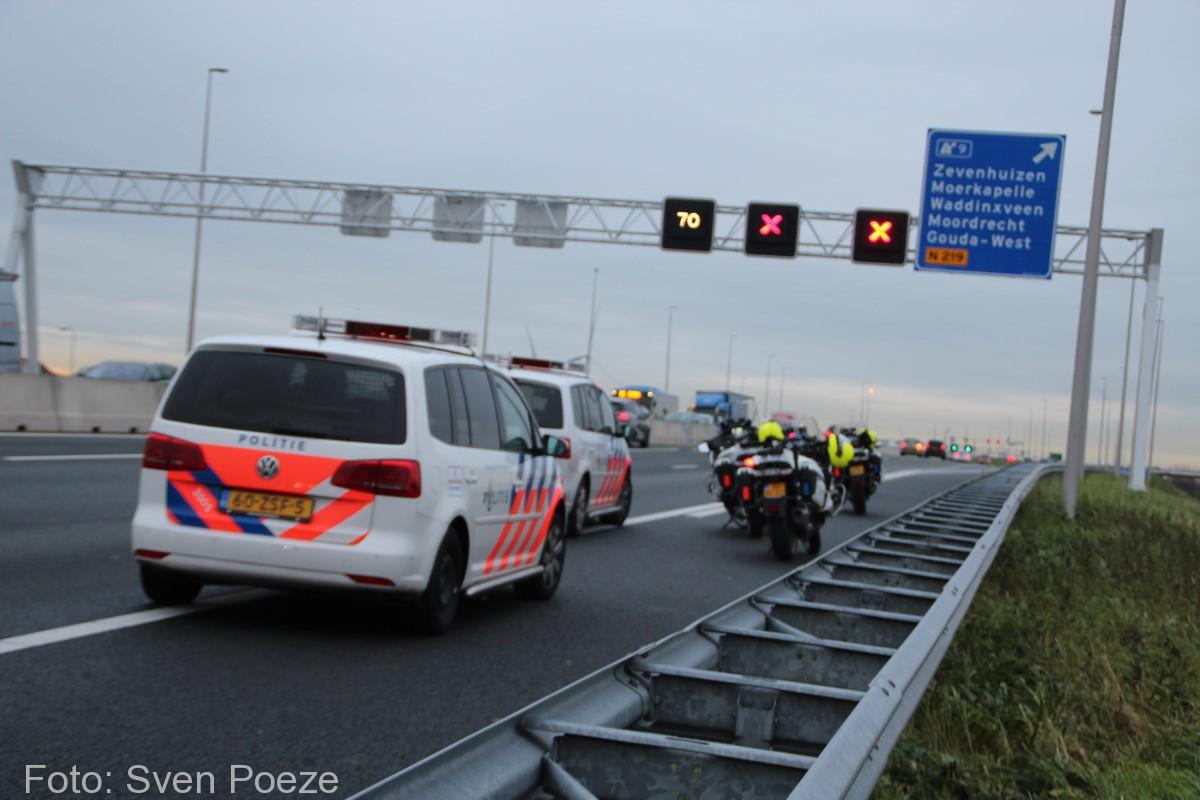 Ongeval (beknelling) A12 Zevenhuizen (5)-2