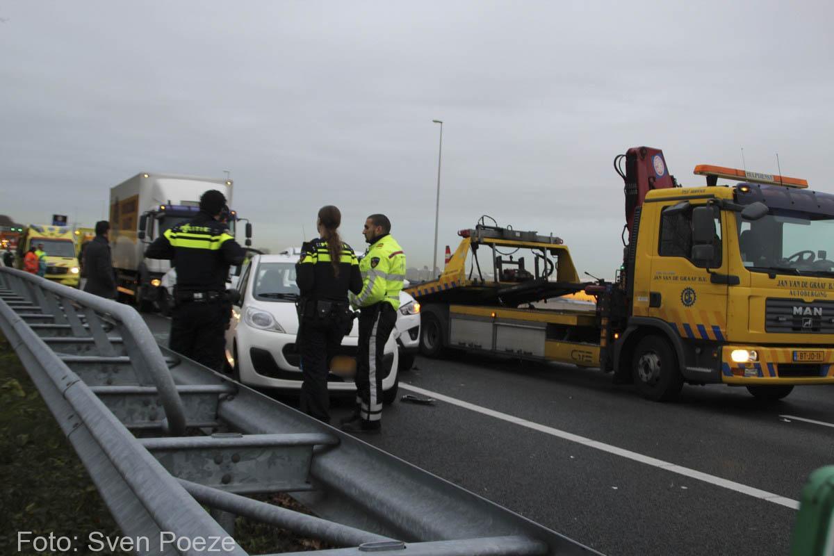 Ongeval (beknelling) A12 Zevenhuizen (7)-2
