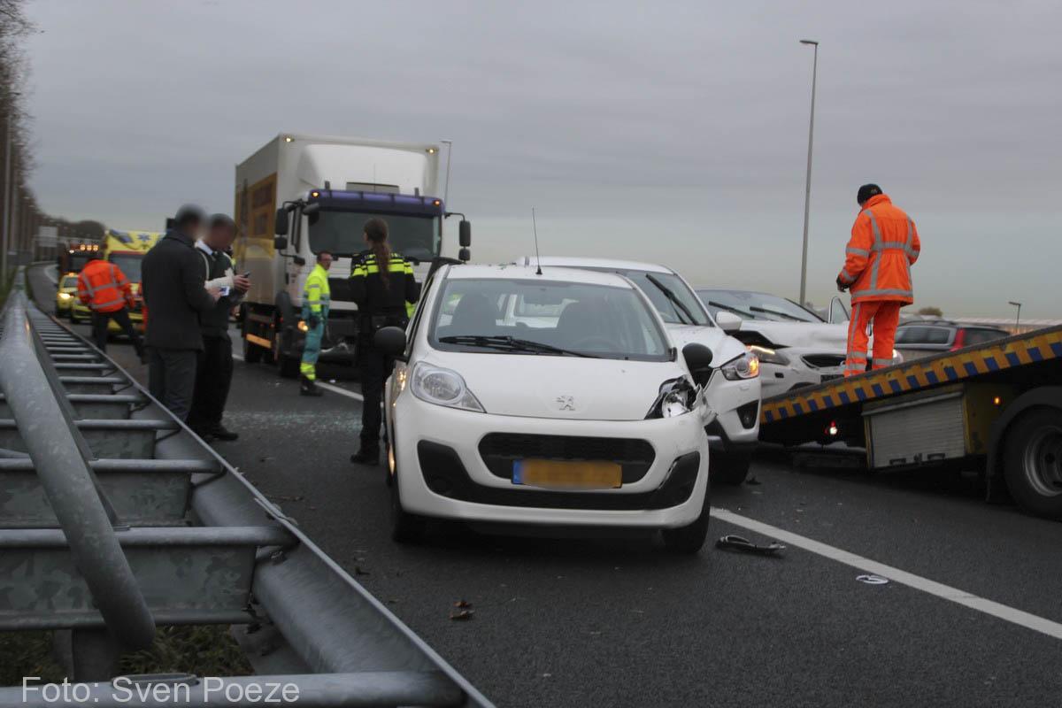 Ongeval (beknelling) A12 Zevenhuizen (8)-2