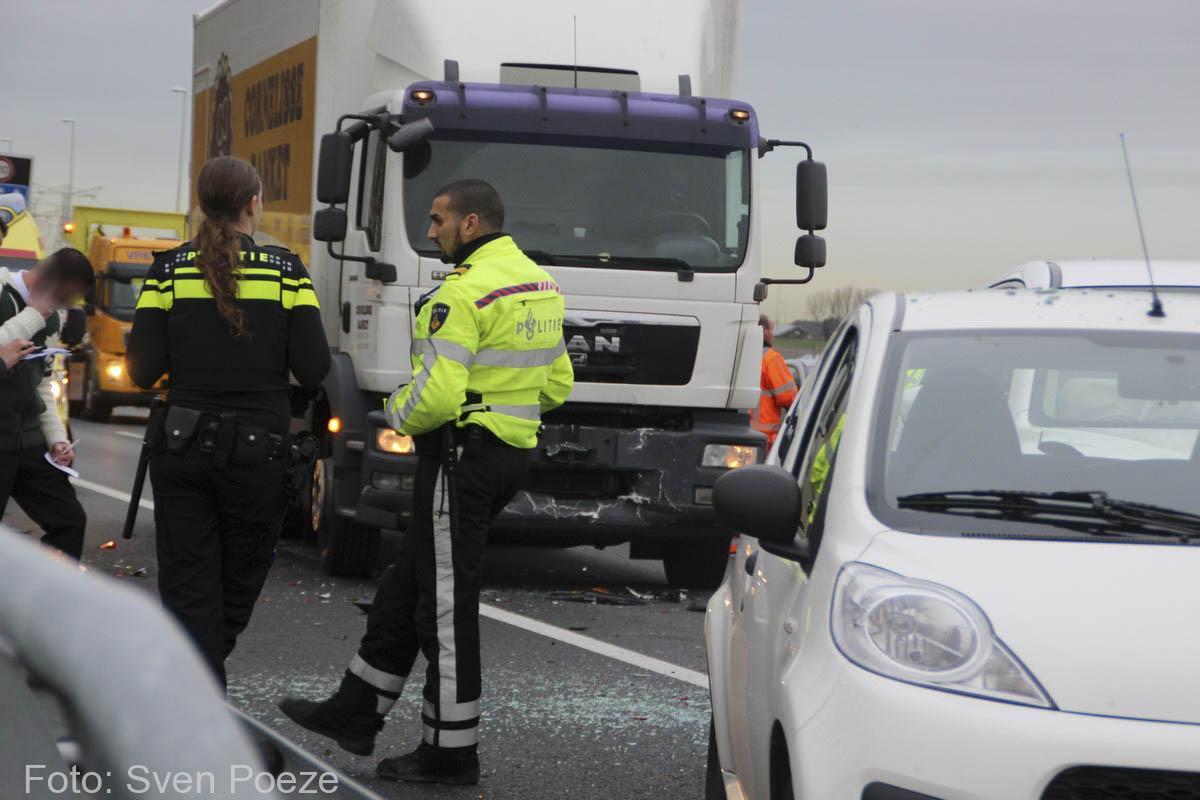 Ongeval (beknelling) A12 Zevenhuizen (9)-2