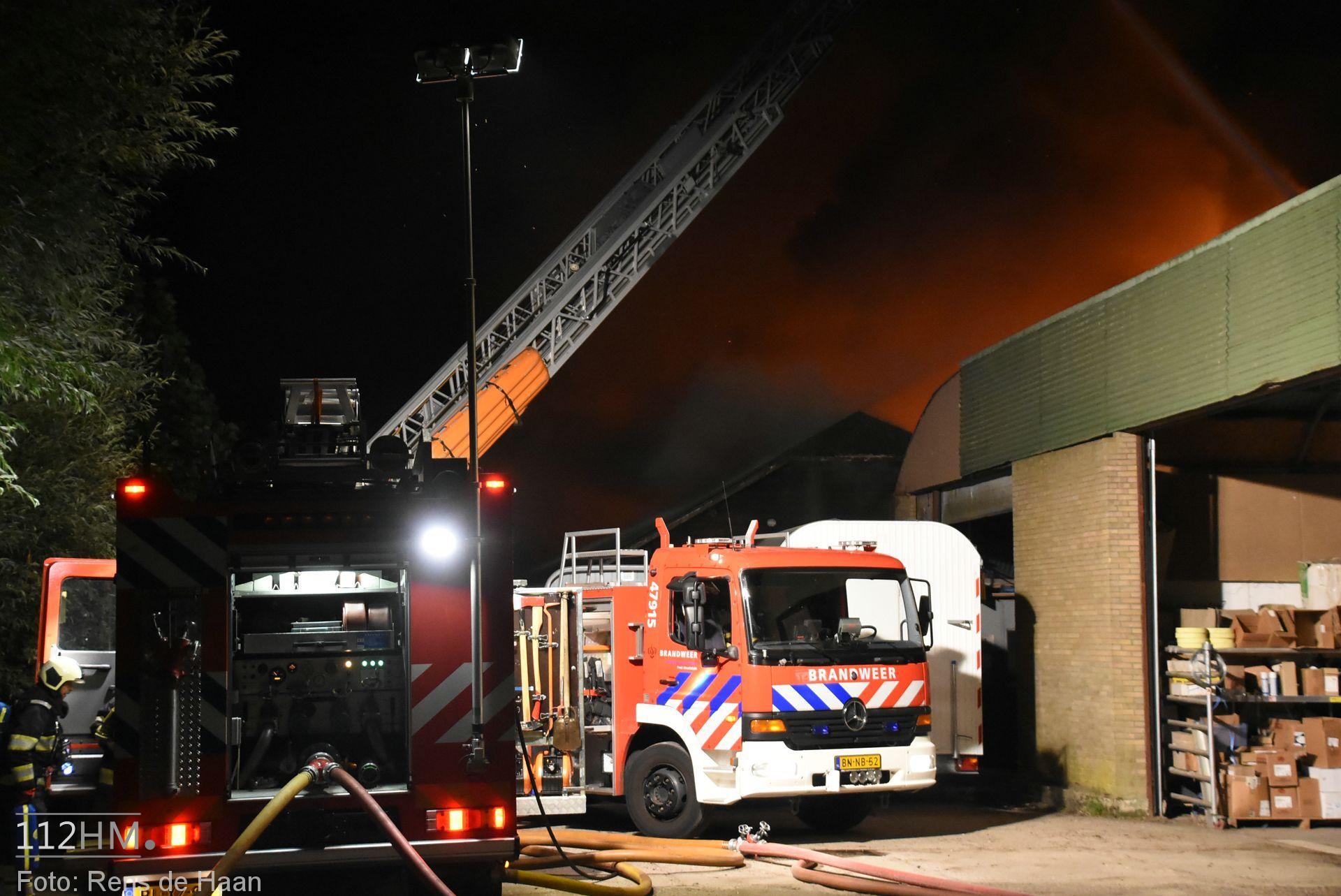 Grote brand Graafdijk Lopik (1)