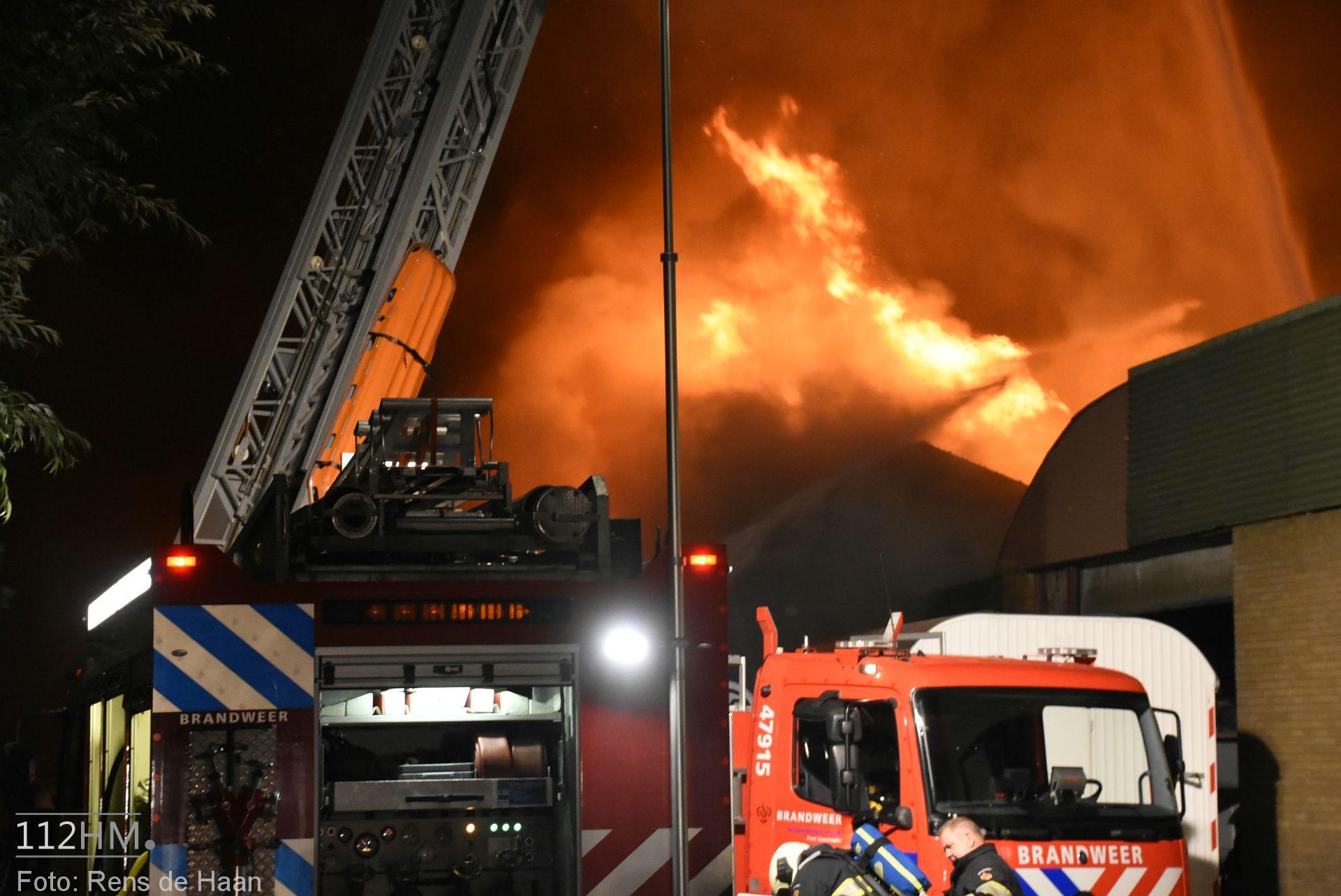 Grote brand Graafdijk Lopik (4)