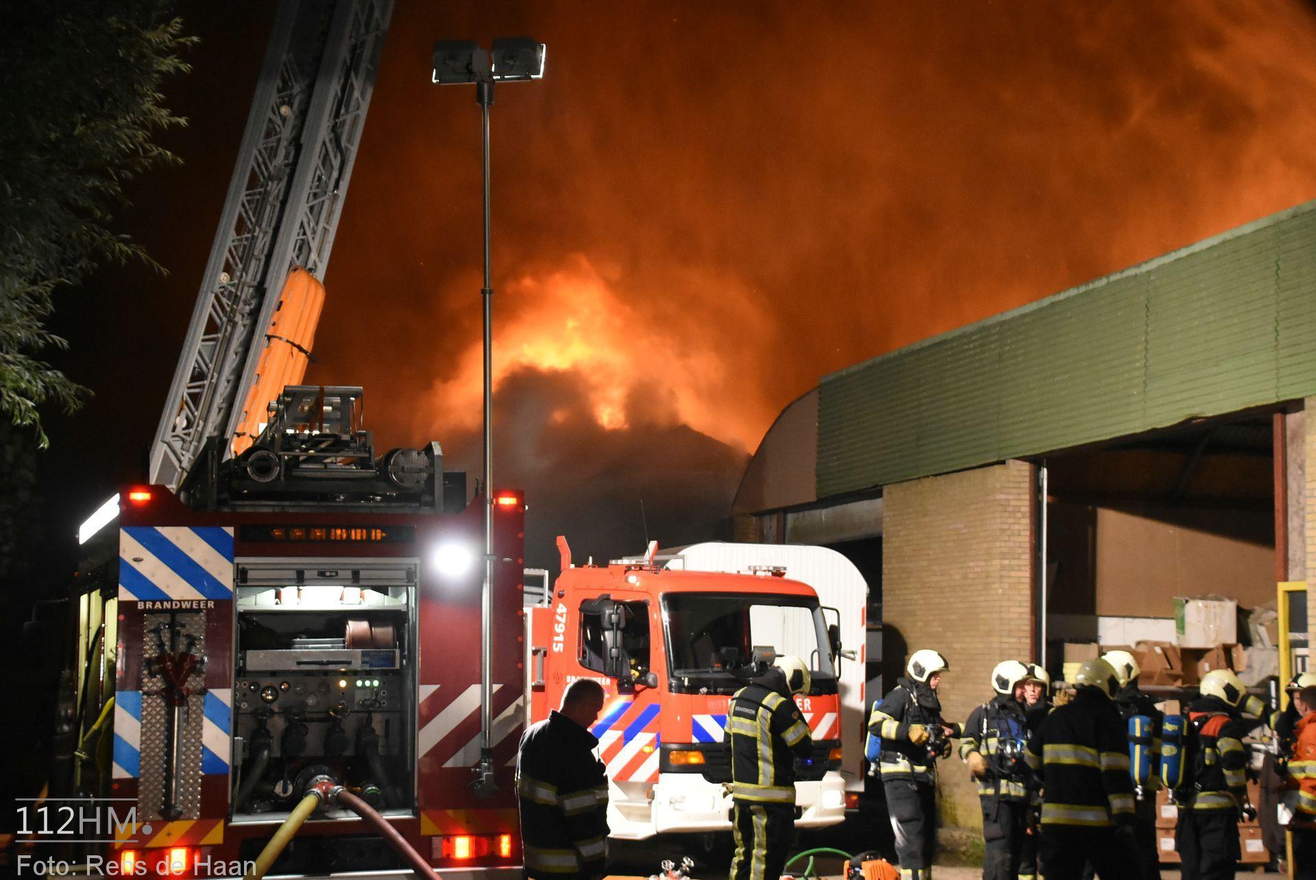 Grote brand Graafdijk Lopik (5)