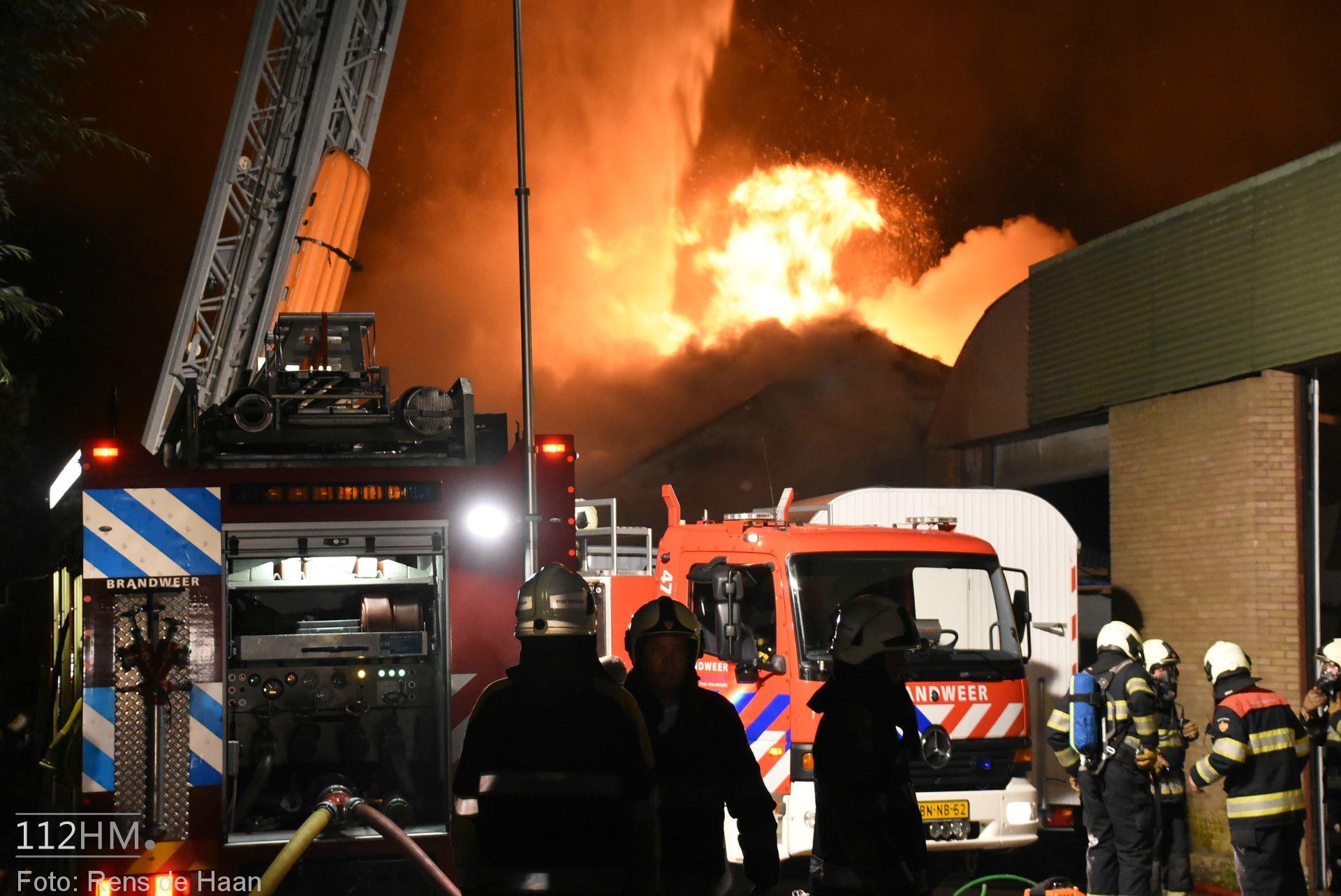 Grote brand Graafdijk Lopik (8)